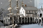 James Webster, boatbuilder, Castine, 1880 - 32 x 21 x 11,5 inches - détail - 2012