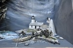 Hendricks head light, 1859, Time of cold gales and heavy seas - 29 x 28,5 x 12 inches - détail - 2011